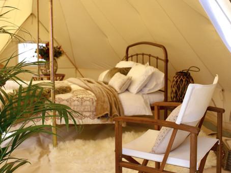Luxury bell tent hire - Sussex | Kent | Surrey