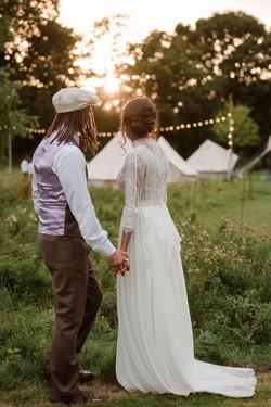 Wedding bell tents