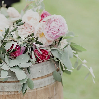 wedding oak barrels