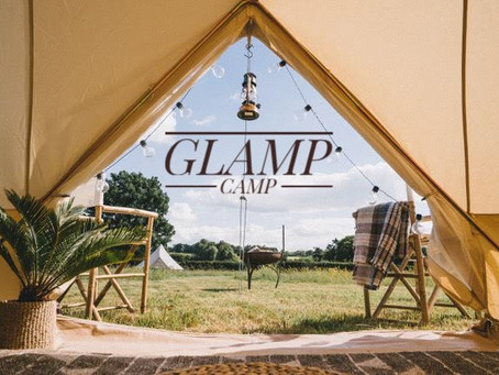 Summer glamping at Chafford Park Estate