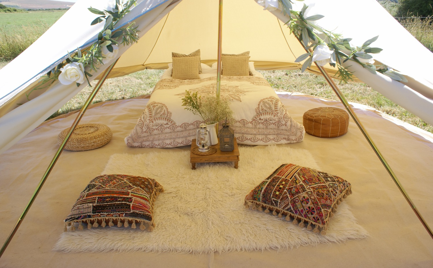 Boho bell tent - honeymoon tent