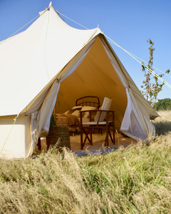 Bell tent hire - glamping weekends