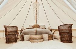 Nordic boho honeymoon suite