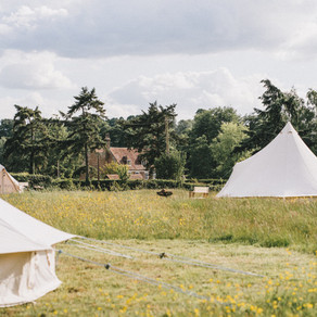 Glamping staycations at Chafford Park Estate, booking now for this summer for 2021!