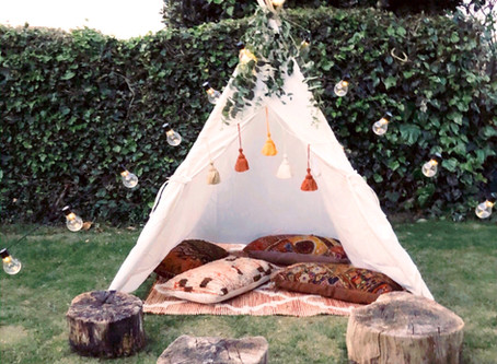 Mini teepees - we don't just do giant ones!