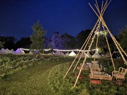 Tipi wedding - bell tent village