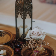 Moroccan rose - tipi grazing platters