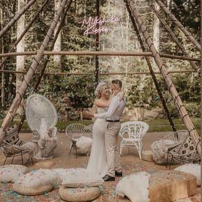 Naked Tipi featured on Festival Brides - Boho meets Coachella!