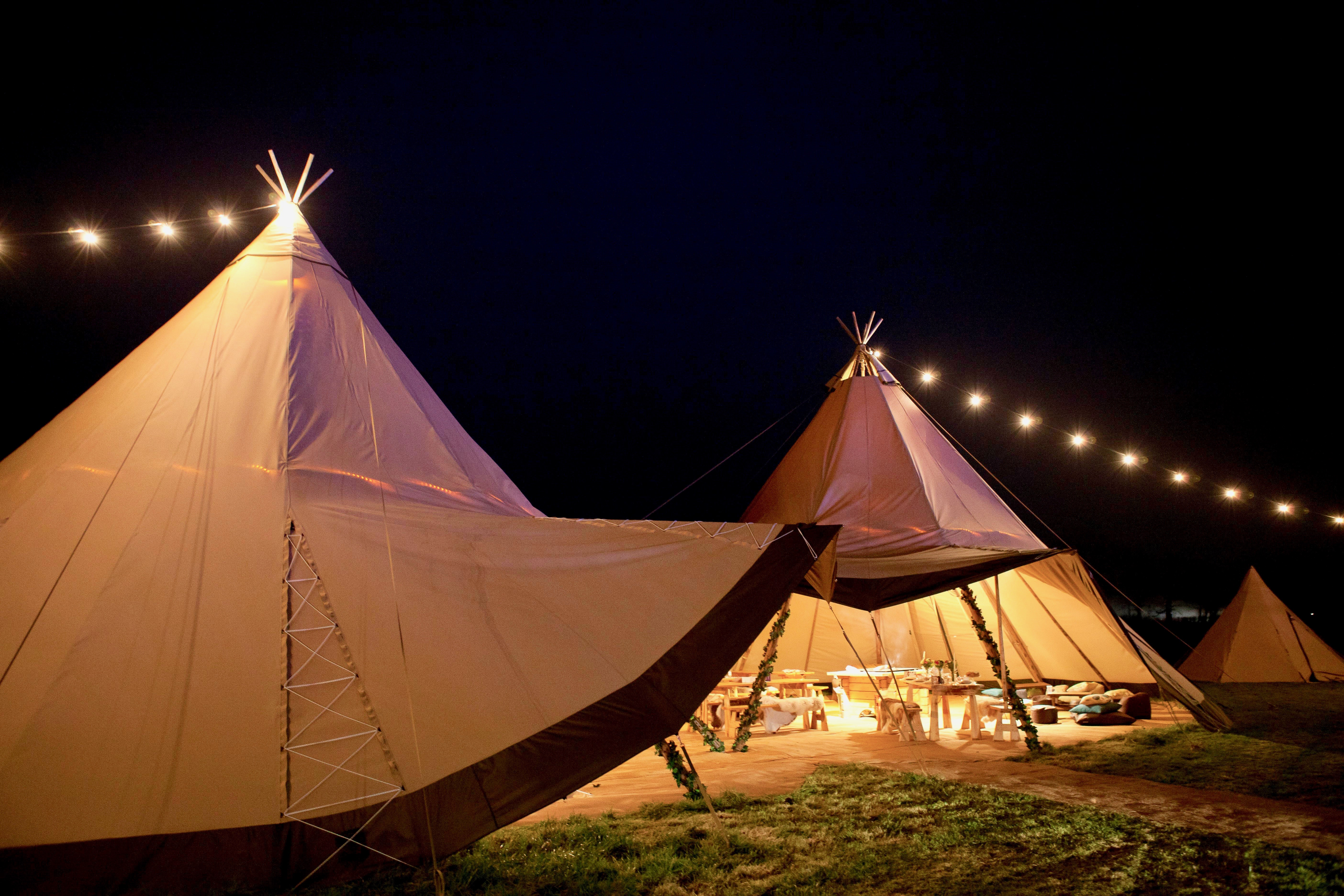 Tribeca Tipis - wedding tipi hire