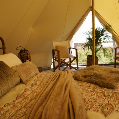 Luxury should mean luxury, when it comes to glamping outdoors