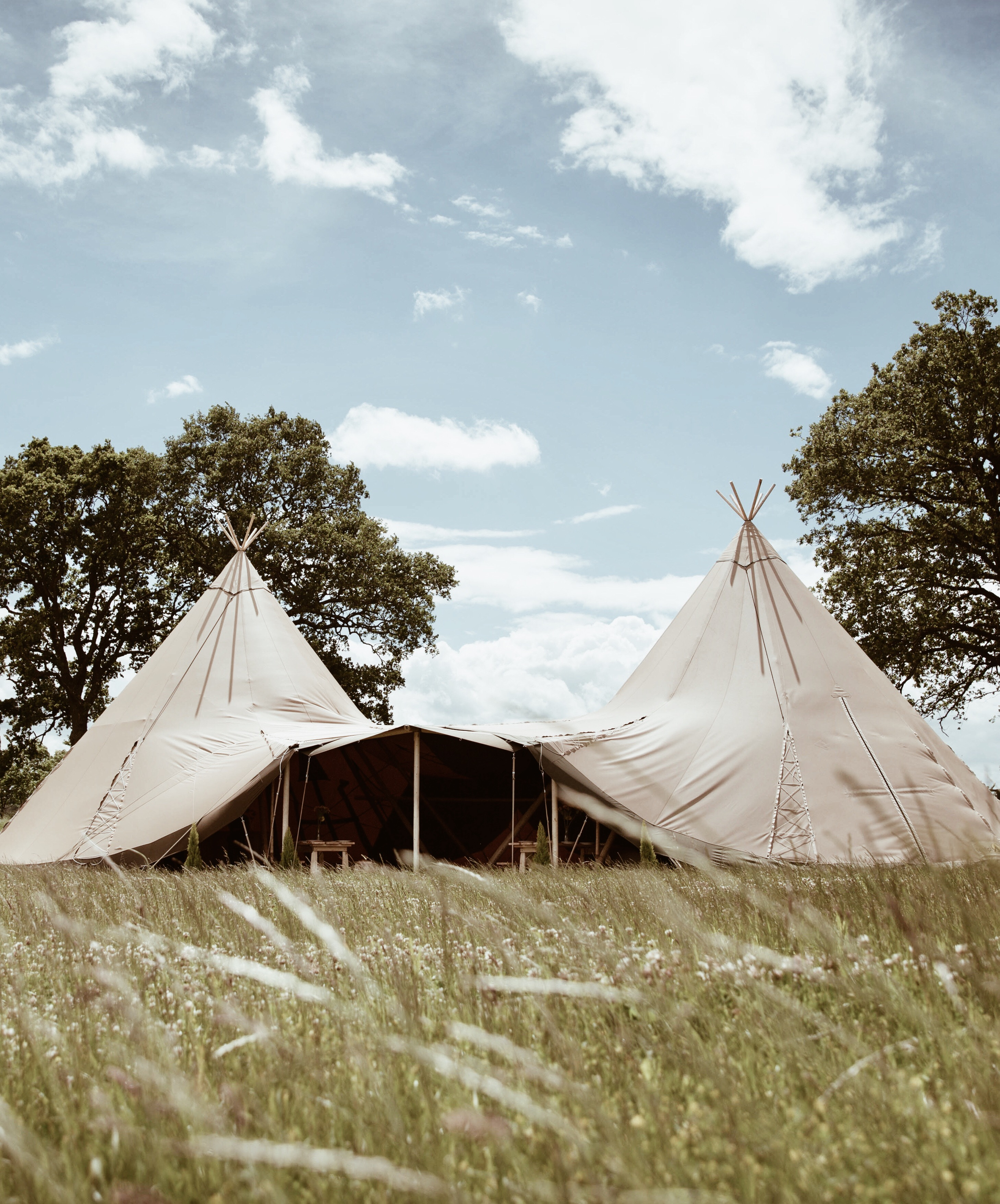 Tipi hire - Sussex