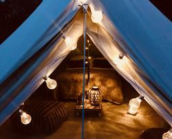 Bell tent - outdoor wedding