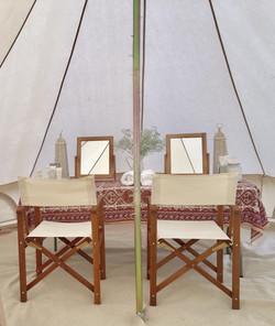 Pamper Tent
