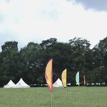 Festival flag hire sussex