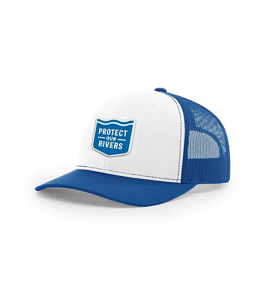 Royal Blue Trucker Hat - Mesh Back