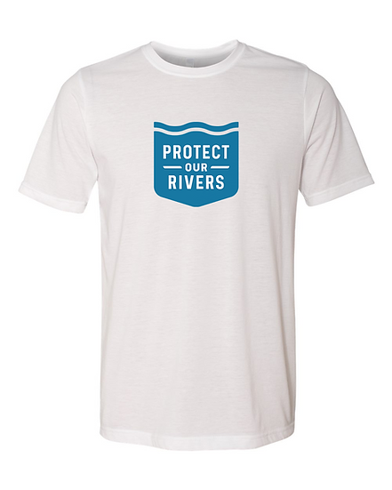 Classic Protect Our Rivers Tee - White