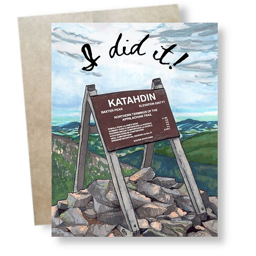 Katahdin Victory Card