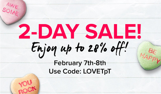 TpT Sale Starts Today!
