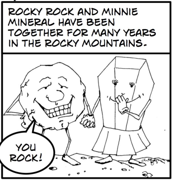 Science Geology Comic