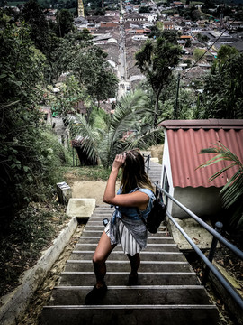 Views over Salento, Colombia