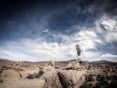 Desert sky, Salt Flats Tour, Bolivia