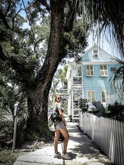 Pastels. Key West, Florida
