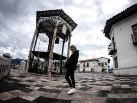 A square in Cuenca