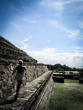 Ruin run. Mexico