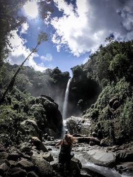 Waterfall - Banos, Ecuador
