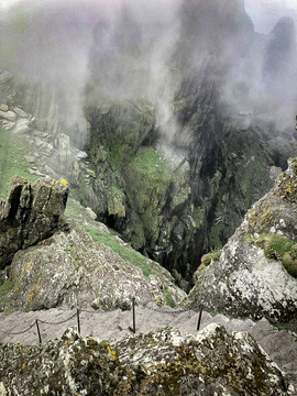 A whole new world. Skellig Michael, Kerry
