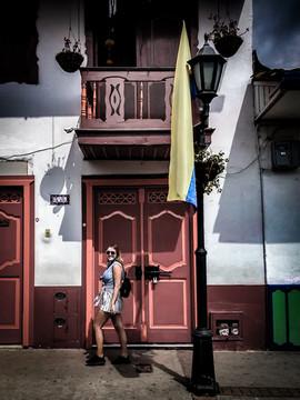 Colourful moments, Salento, Mexico