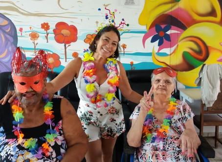 Festa de Carnaval agita o Lar
