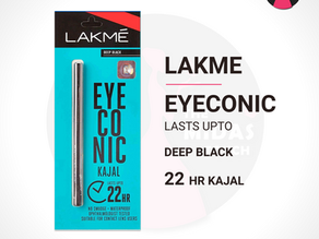 Highlight the beauty of your eyes with the Lakme Eyeconic Kajal. (Review)