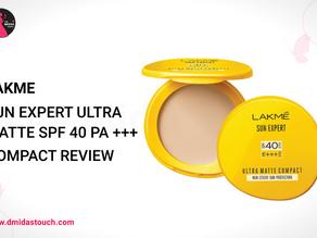 Lakmé Sun Expert Ultra Matte SPF 40 PA+++ Compact Review