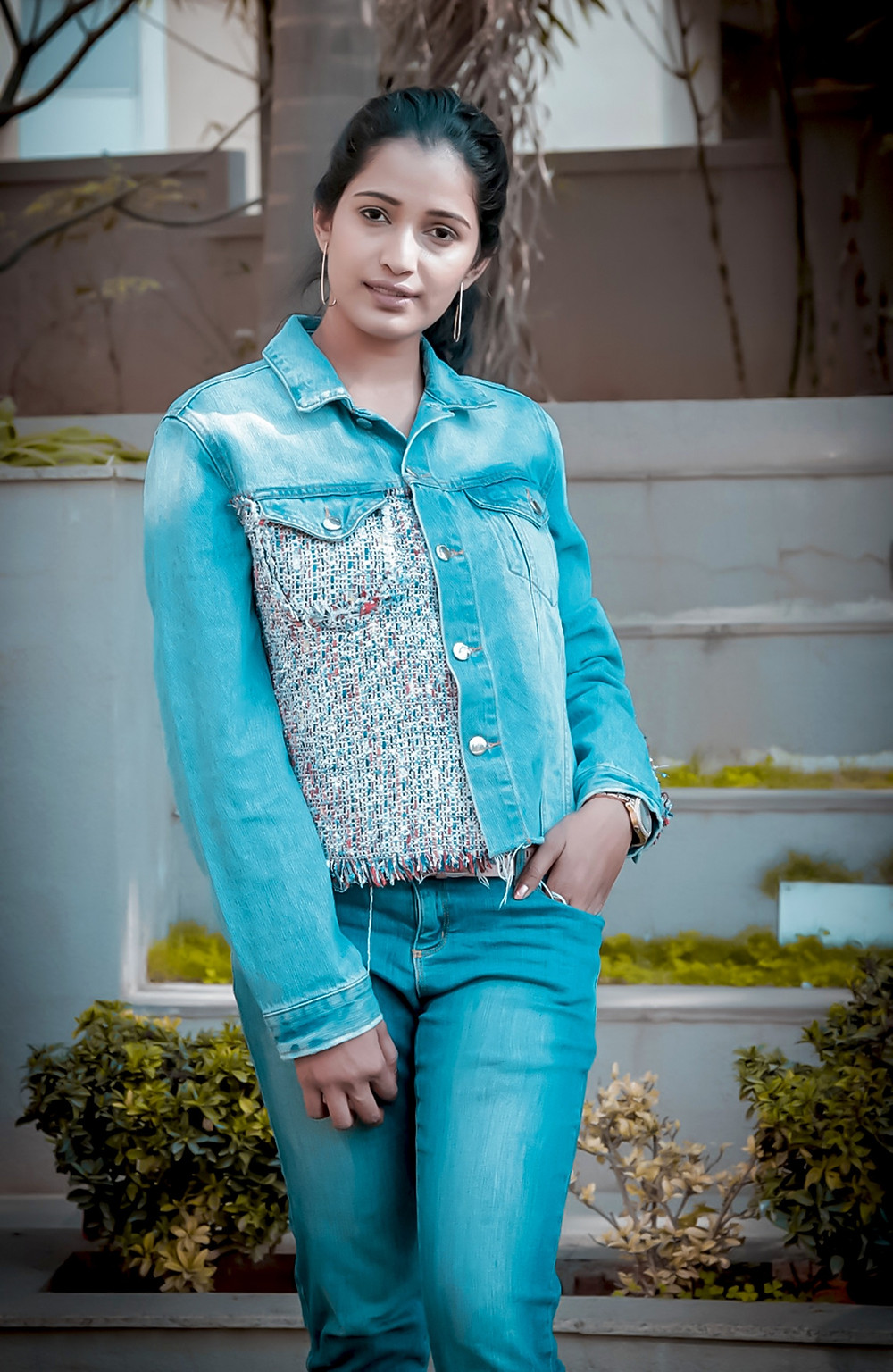 Denim on Denim - Fashion by Tasmiya Shaikh