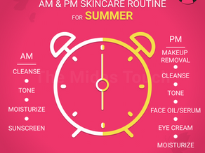 My Summer AM and PM Skincare Routine