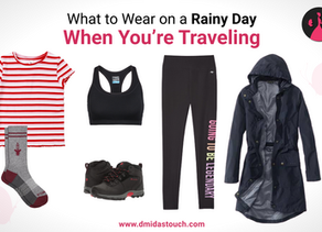 4 Rainy Day Outfits to Ensure Rain Never Ruins Your Travels