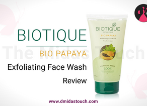 Biotique Bio Papaya Exfoliating Face Wash Review