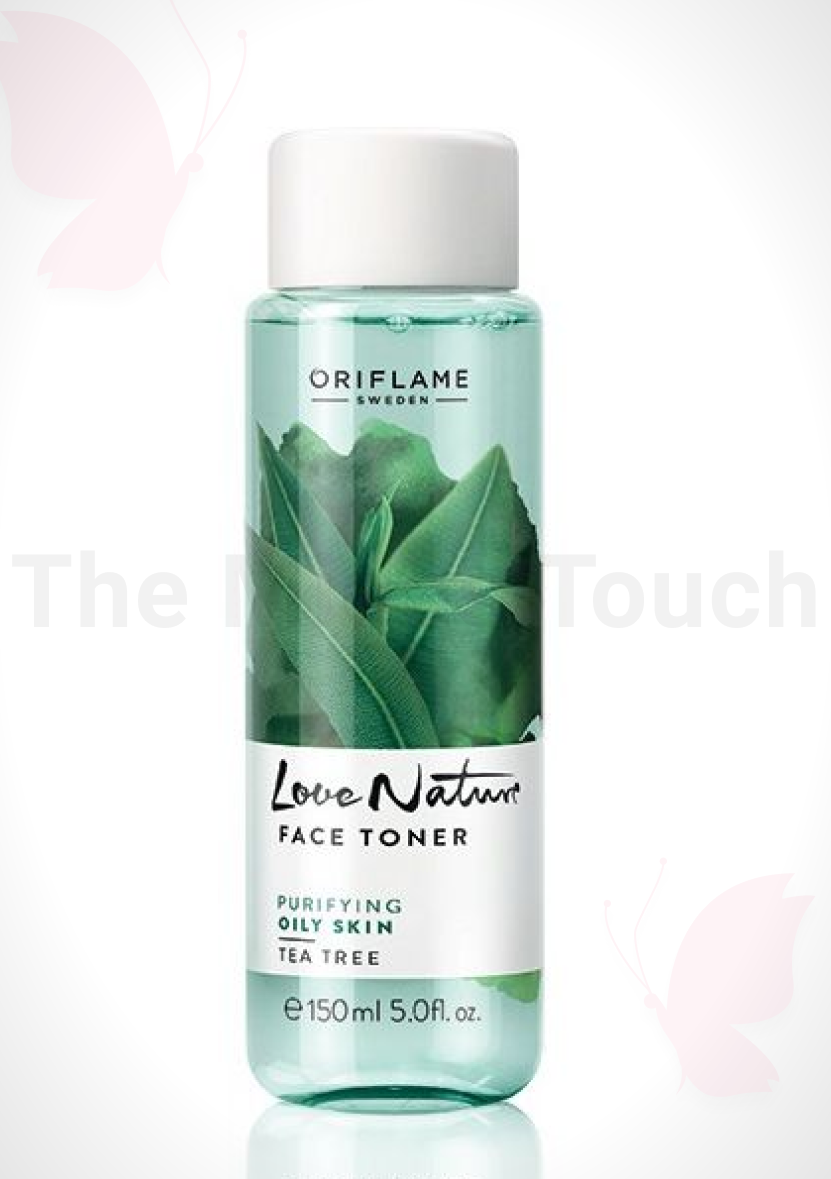 Oriflame Love Nature Tea Tree Cleansing Gel For Oily Skin Review - Tasmiya Shaikh