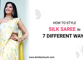 How to Style Silk Saree in 7 Different Ways!