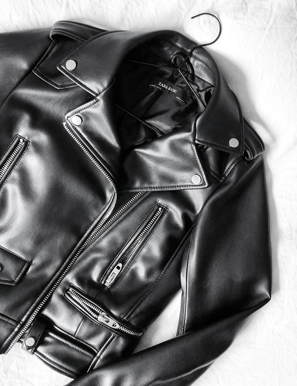 A Black Leather Jacket - The Midas Touch -  Tasmiya Shaikh