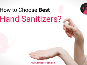 How to choose Best Hand Sanitizers in India