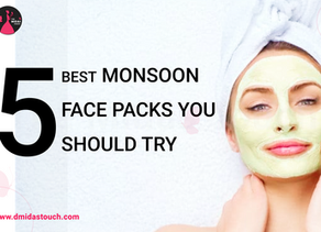 5 Best Monsoon Face Packs You should try!