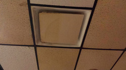 ceiling dirty