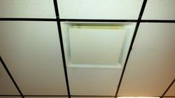 ceiling clean