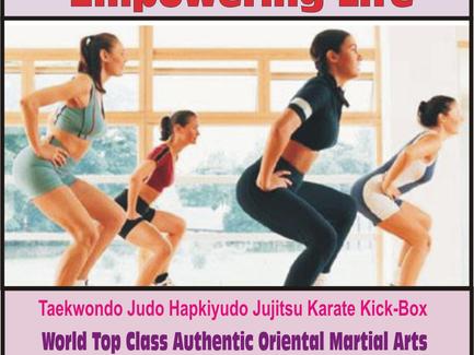 Ladies' Martial Arts, Self-Defense, Empowering Life! - Happy, Healthy & Empower.