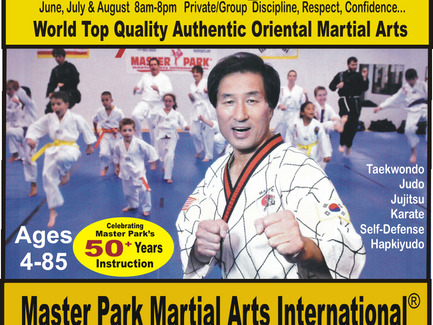 Private/Group Lessons by Master Park; World Top Quality Authentic Oriental Martial Arts