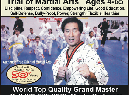 Celebrating Master Park's 50years Authentic Oriental Martial Arts Instruction!