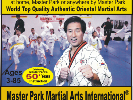 In-Person, Master Park On-line Live Private Lessons by Master Park at home, MPMA, or anywhere.