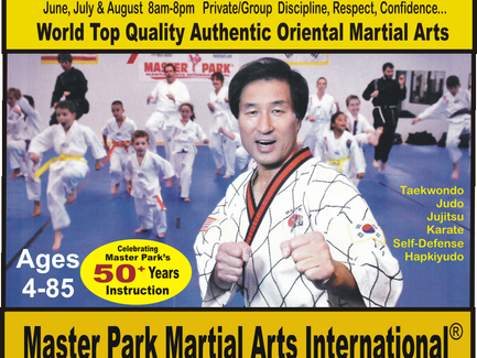 Sign Up Now! Martial Arts Summer Special Programs: